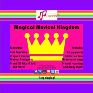 Musicaliti: Magical Musical Kingdom CD