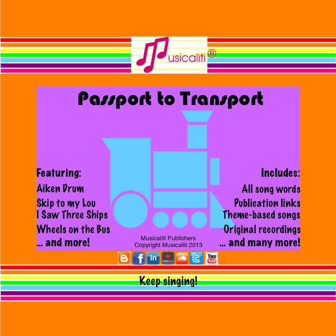 Musicaliti: Passport to Transport CD