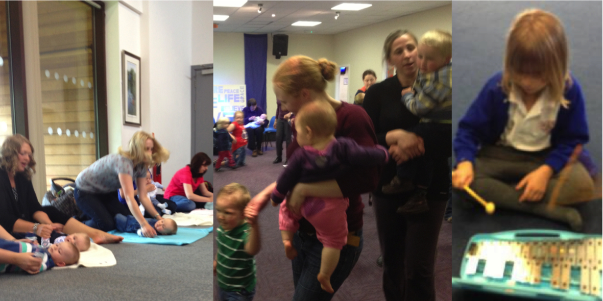 Research shows that babies, toddlers, preschoolers and early primary children enjoy music