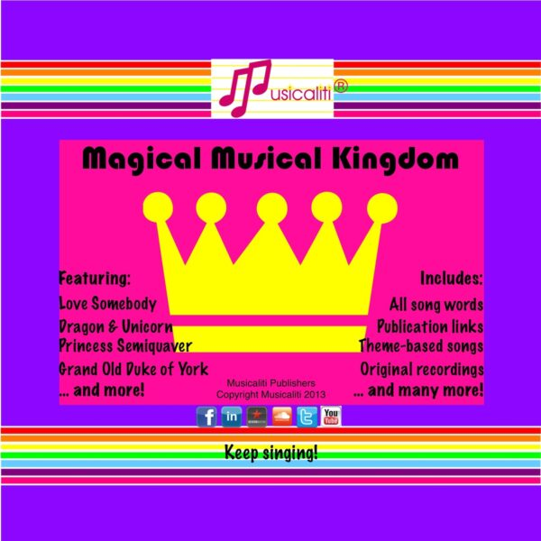 Magical Musical Kingdom CD