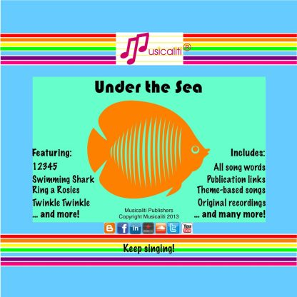 Under the Sea CD