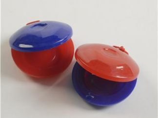 plastic castanets