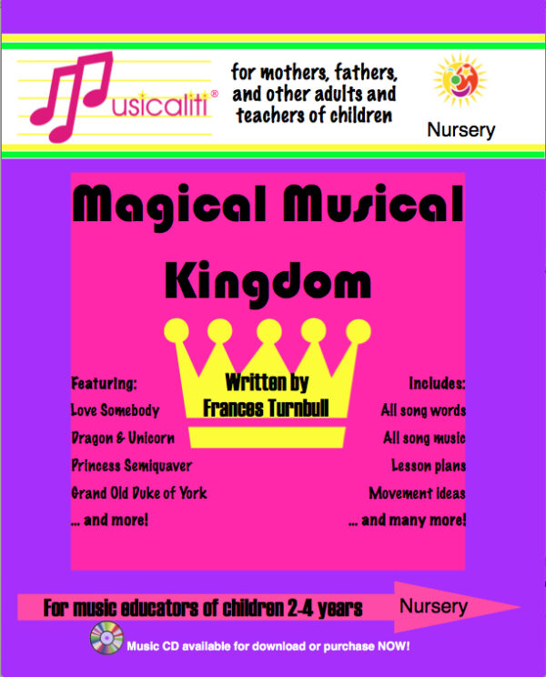 Magical Musical Kingdom lesson planner