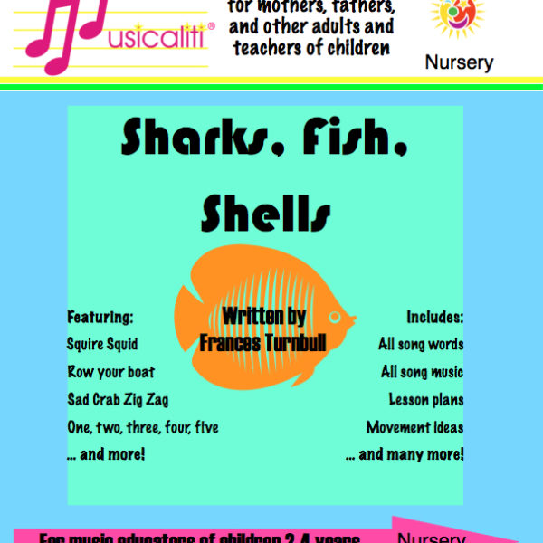 Sharks, Fish, Shells lesson planner