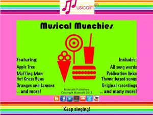 Musical Munchies CD
