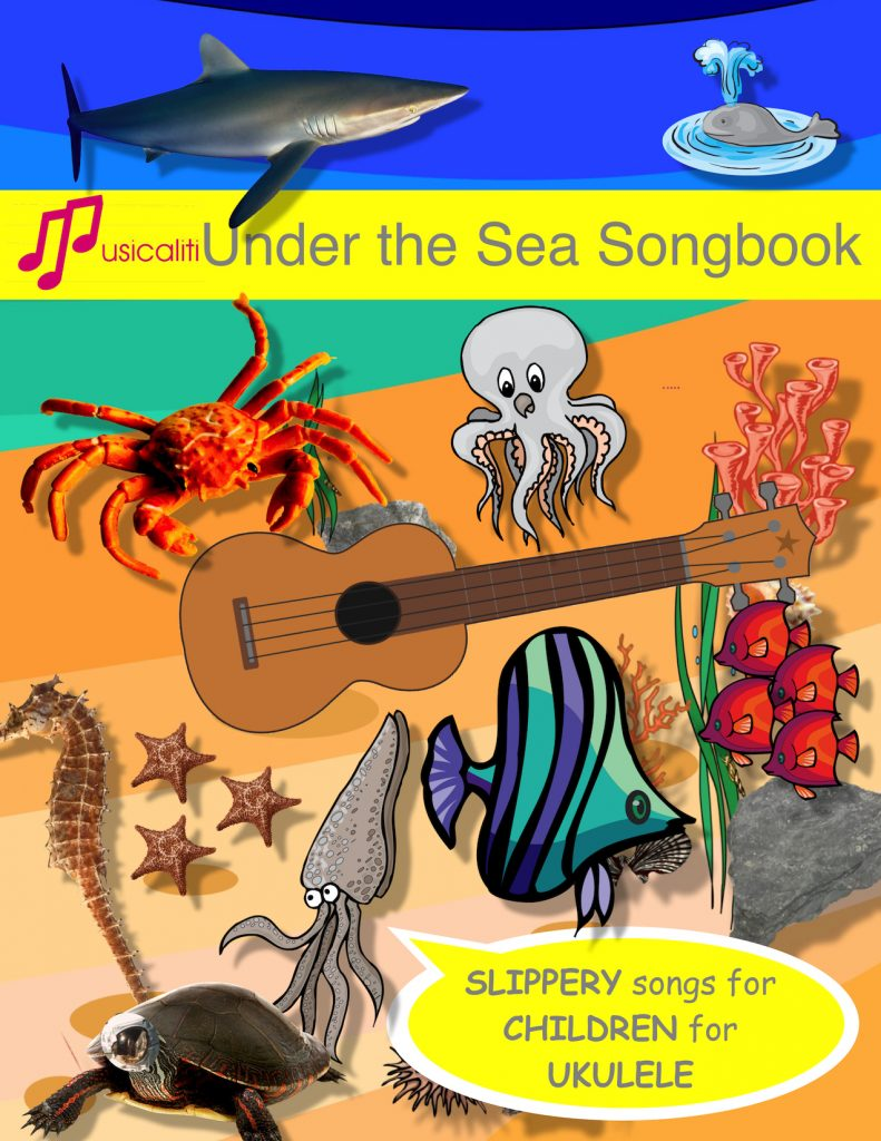 Under the Sea Song Book